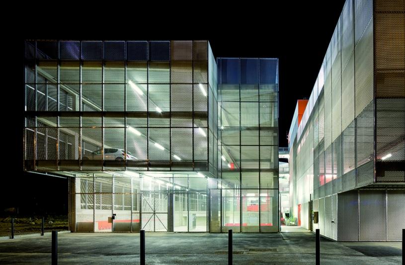 Parking Silo, Tourcoing, de Alzua & Ekoa arch. (© S. Grazia)