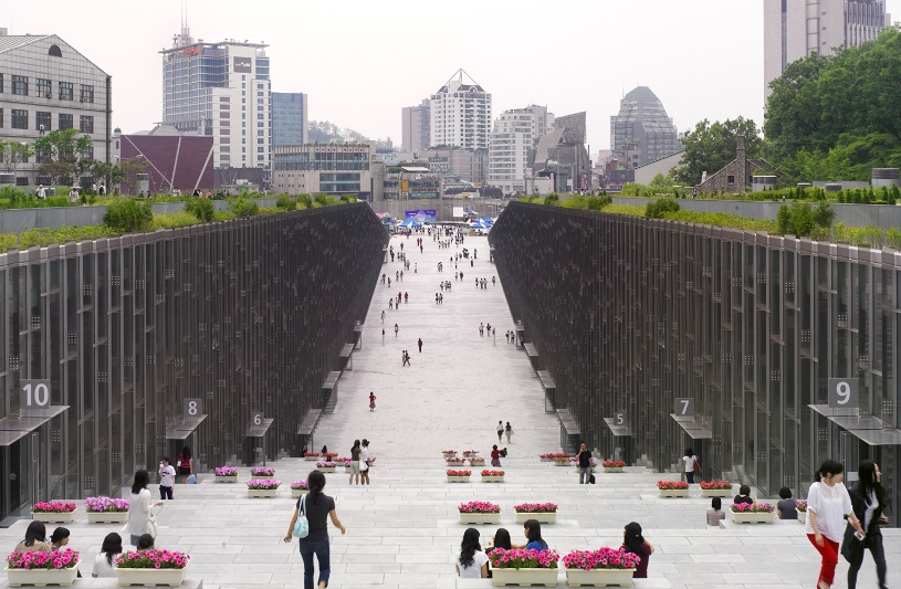 Ewha Womans University, Dominique Perrault arch.