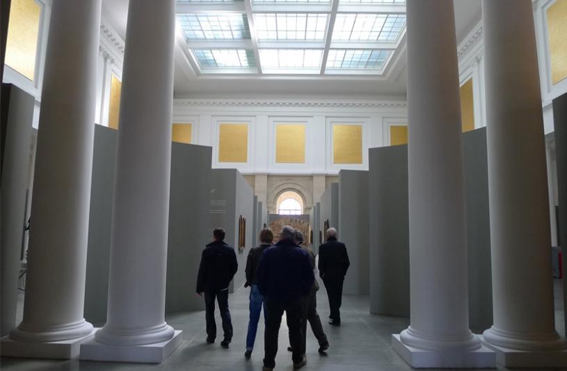 Scénographie de l'exposition «  Les Fables du Paysage Flamand »