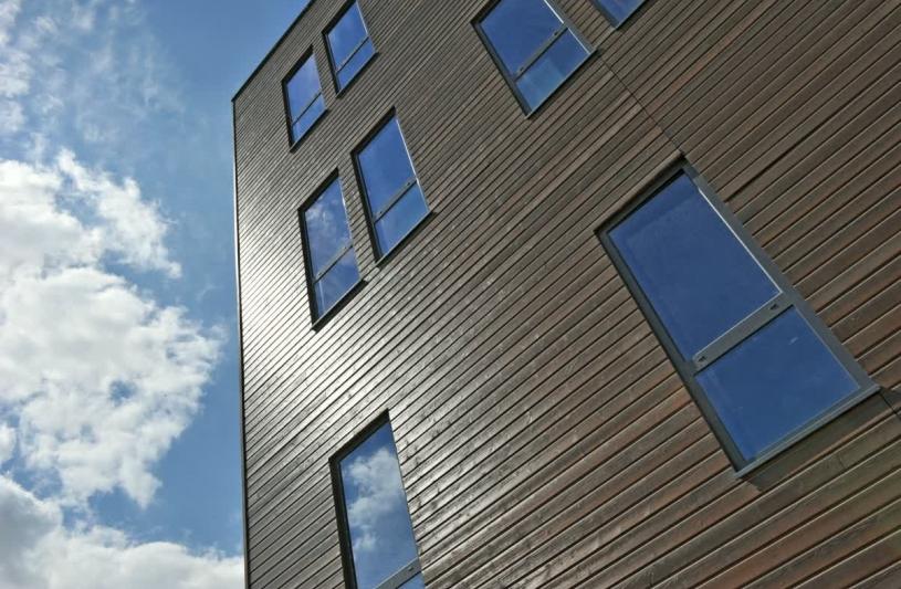 Construction de bureaux et ateliers BBC à Saint-Etienne - Photo Balao