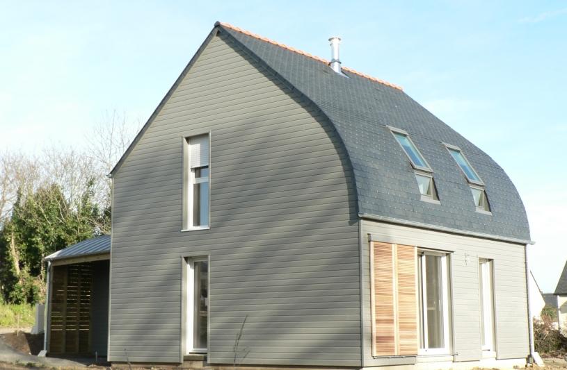 maison bioclimatique architecte Morbihan
