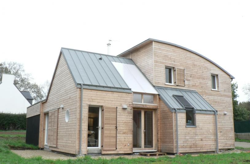 maison rt 2012, maison bioclimatique, jardin d'hiver, architecte