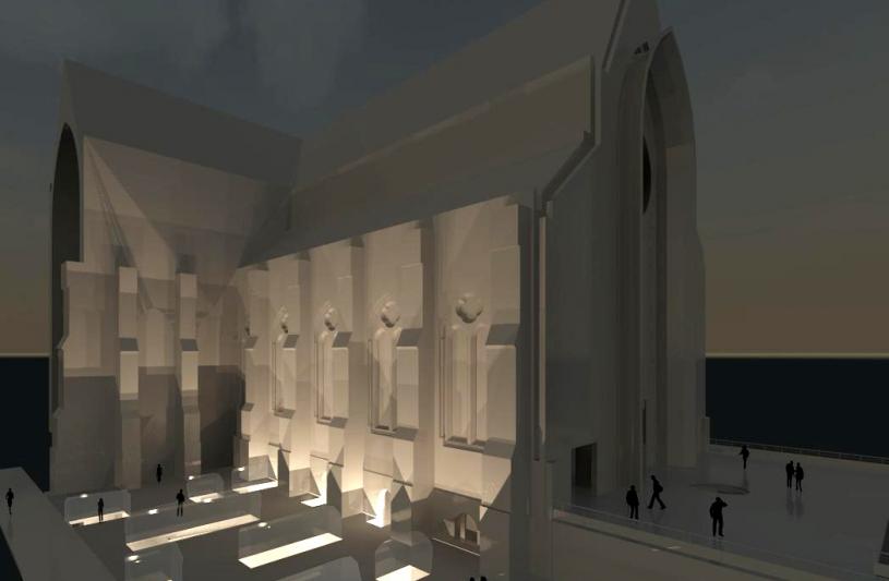 Extension du Musée d'Art sacré et le rehaussement du clocher de la Treille