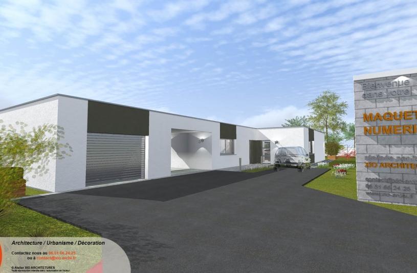 Xio architectures ordre des architectes for Habitation individuelle
