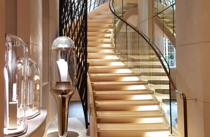 Nouvel écrin parisien Van Cleef & Arpels - par Jouin Manku et SLA Architecture