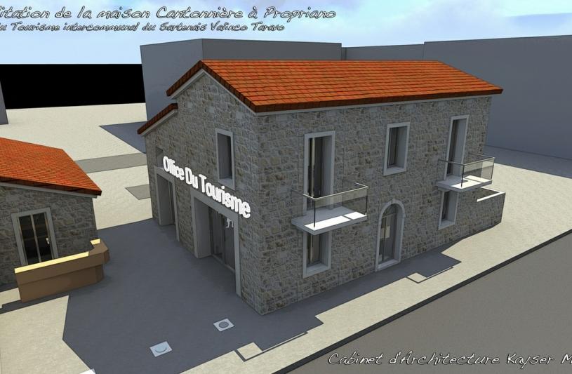Cabinet d'Architecture Kayser Milleliri Architecte DPLG en Corse 15 b cours soeur amélie 20100 Sartene