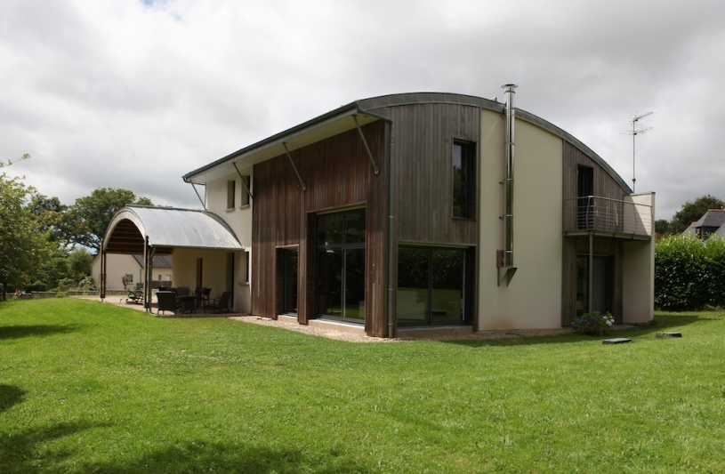 maison bioclimatique Morbihan