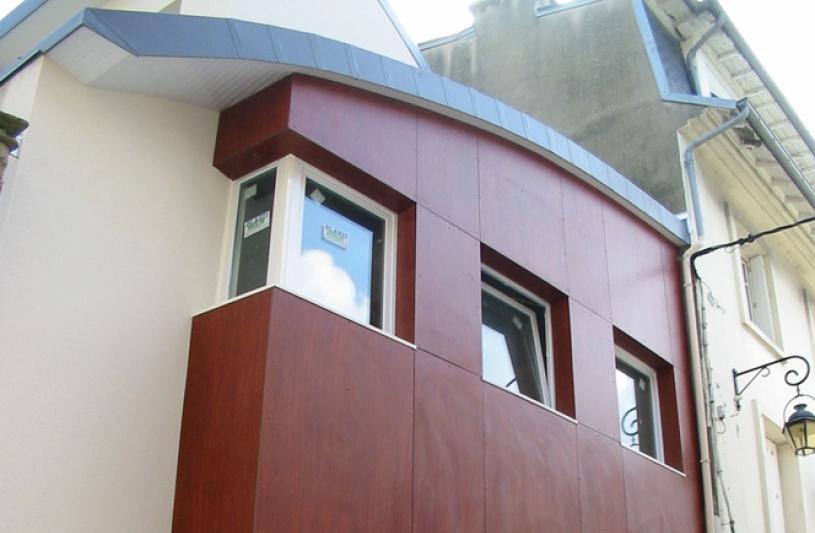 Magasin d'optique : façade