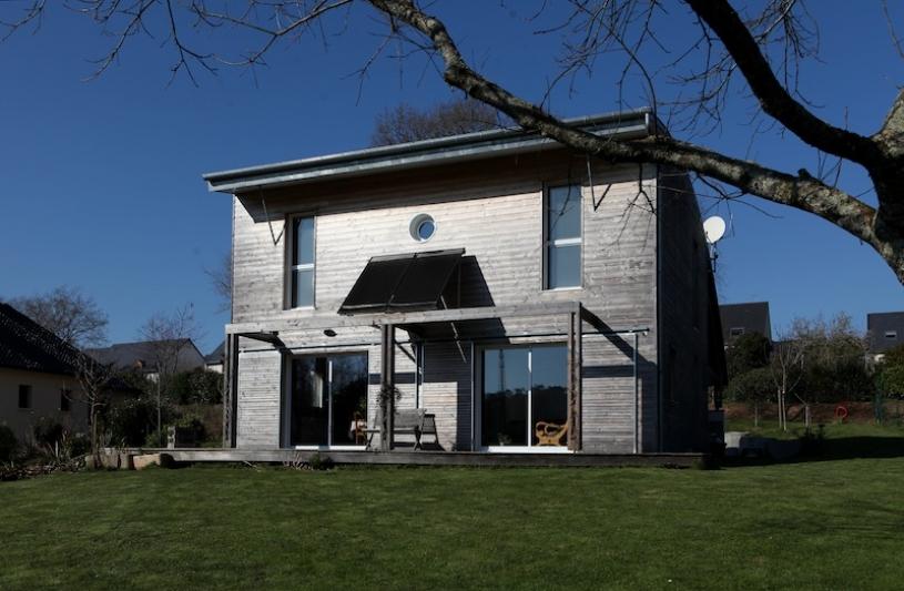 maison bioclimatique Morbihan architecte