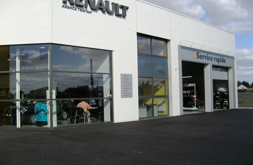Michel dubec architecture ordre des architectes for Garage renault martinique