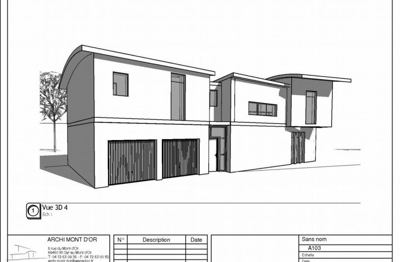 Archi mont d or for Projet maison individuelle