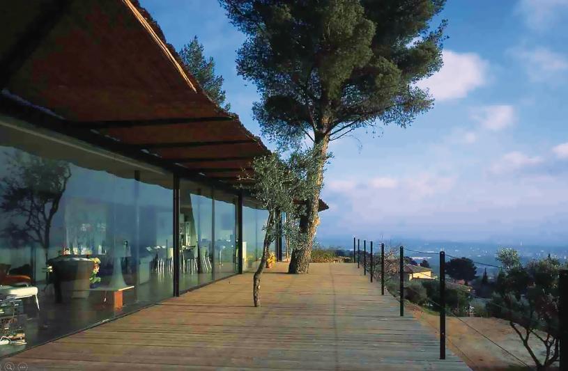 Villa Ollioules, Rudy Ricciotti arch. (© Philippe Ruault)