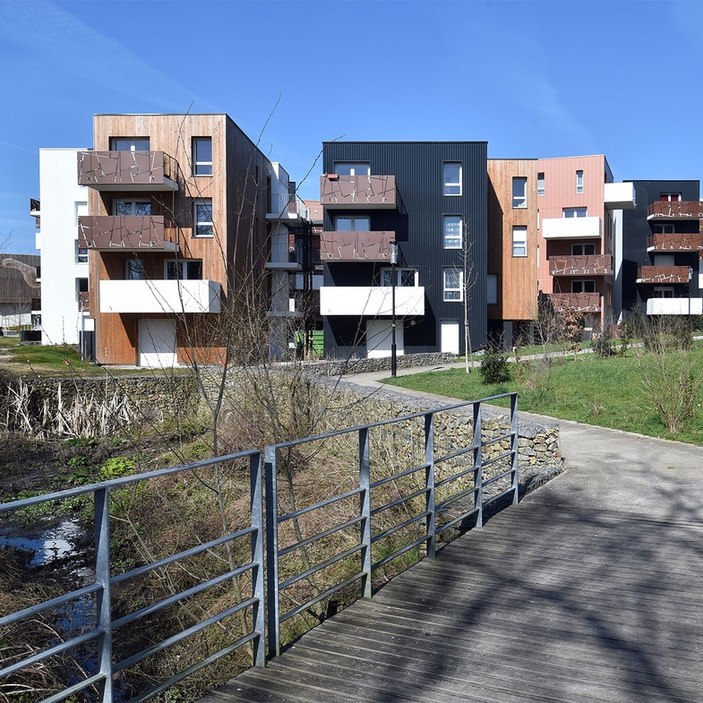 53 logements collectifs