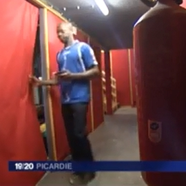Extrait d'une vidéo réalisée par France 3 sur l'aide apportée aux réfigiés par Architectes de l'urgence