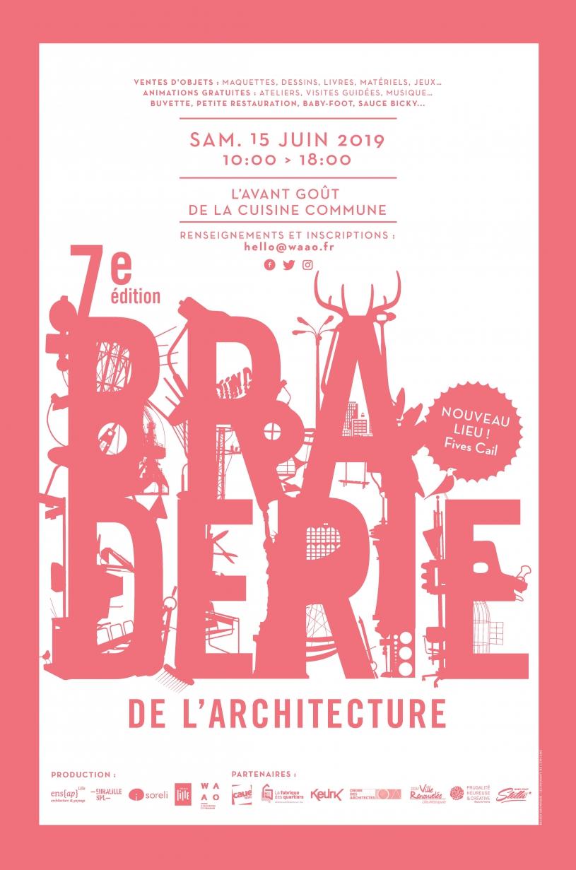 Braderie de l'architecture de Lille 7e édition