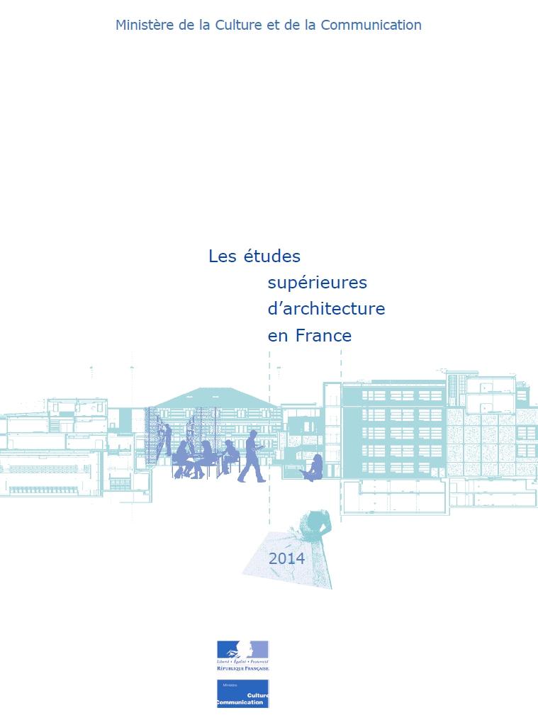 Les études supérieures d'architecture en France
