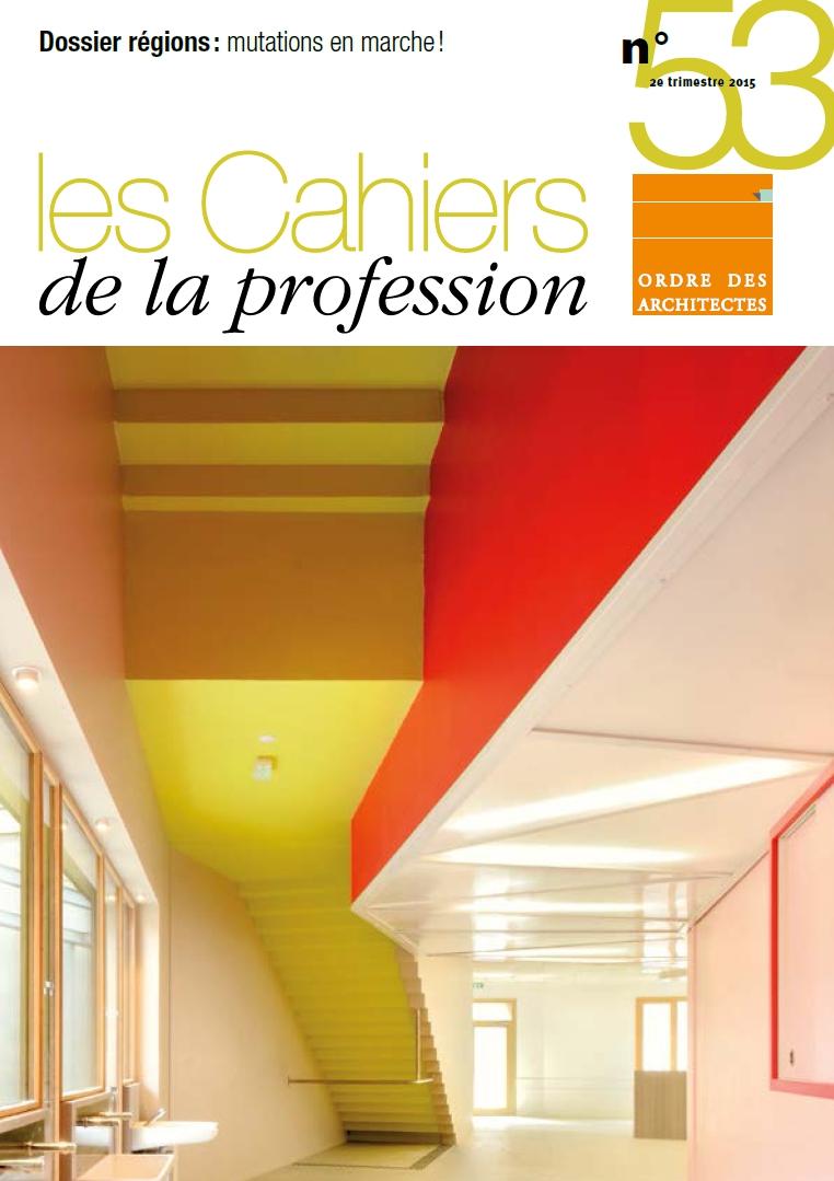 Couverture - Cahiers de la profession 53