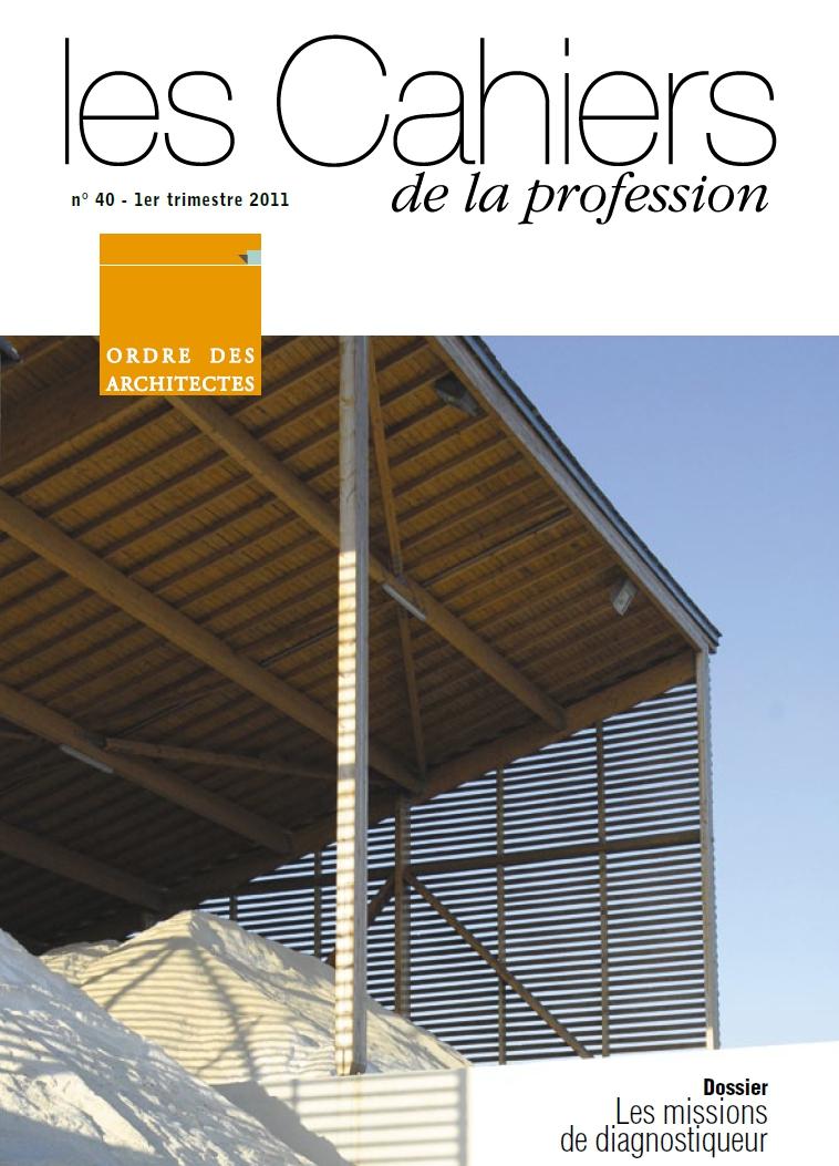 Cahiers de la profession n°40