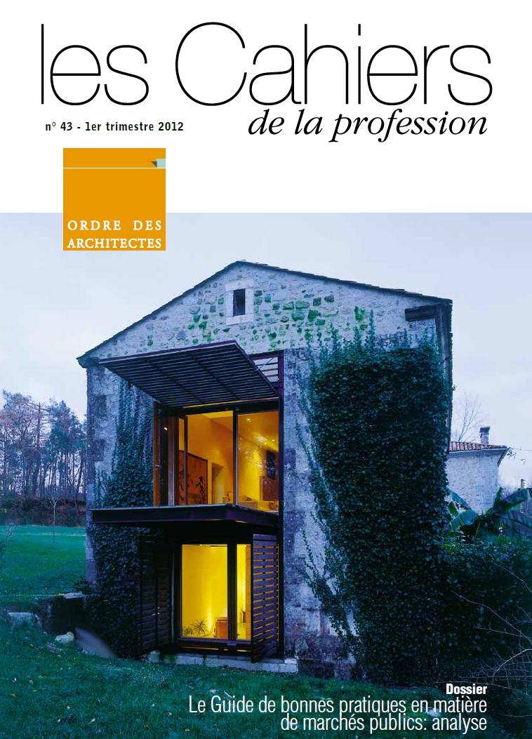 Cahiers de la profession n°43