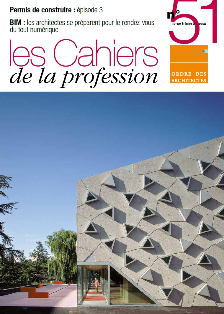 Couverture - Cahiers de la profession n°51