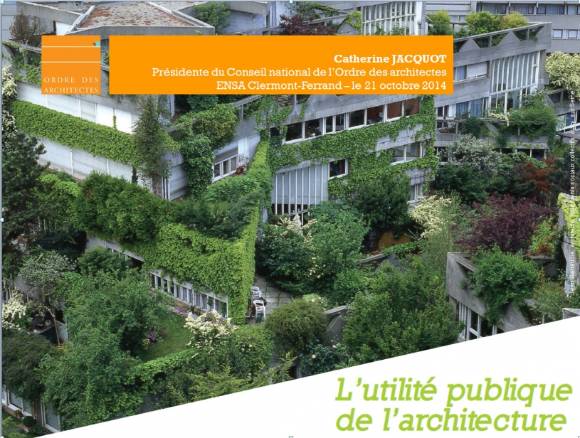 Couverture - ENSA Clermont 2014
