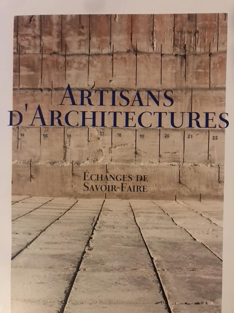 Couverture Artisans d'architecture