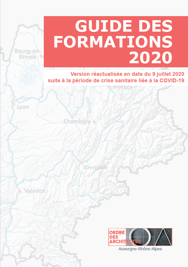 MAJ Guide des formations 2020