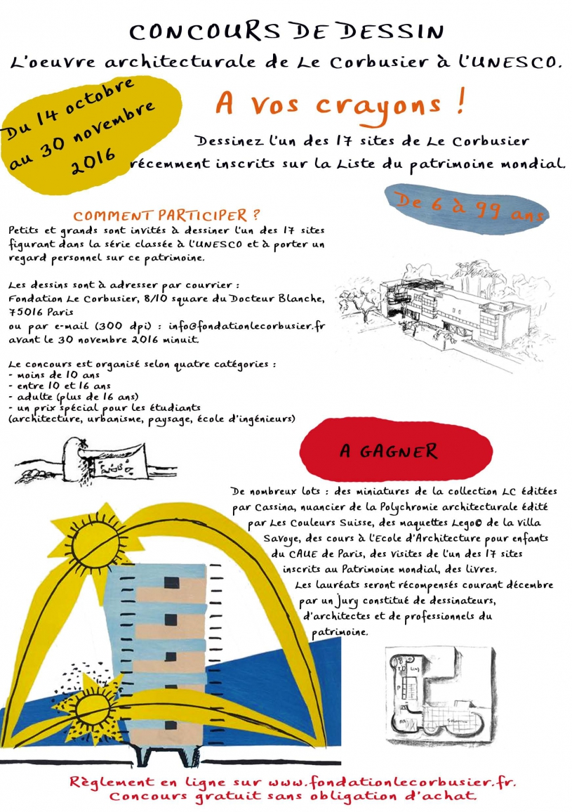 Concours de dessin 2016