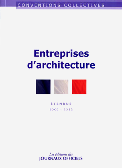 Conventions collectives_ Entreprises d'architecture
