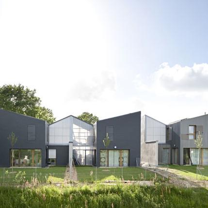 9 Maisons à Vezin-Le-Coquet (35), AA41 + ALL architectes. (Lauréat 2013)
