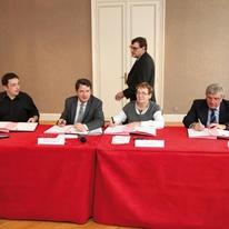 Signature officielle du protocole de lutte contre les signatures de complaisance (source : http://www.meurthe-et-moselle.gouv.fr)