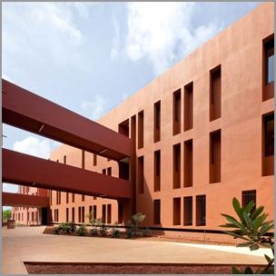 Lycée français de Dakar - Terreneuve arch. (photo D. Rousselot)