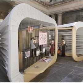 Pavillon du FAV 2014, Atelier NH, Laura NARGEOT et Aurélie HARLIN architectes
