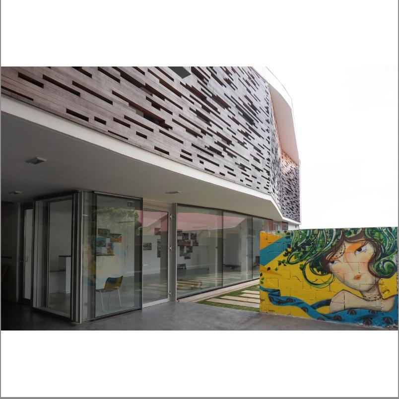 Maître d'ouvrage : Conseil Régional de l'Ordre des Architectes de Guyane. Architecte : Julien Cottalorda