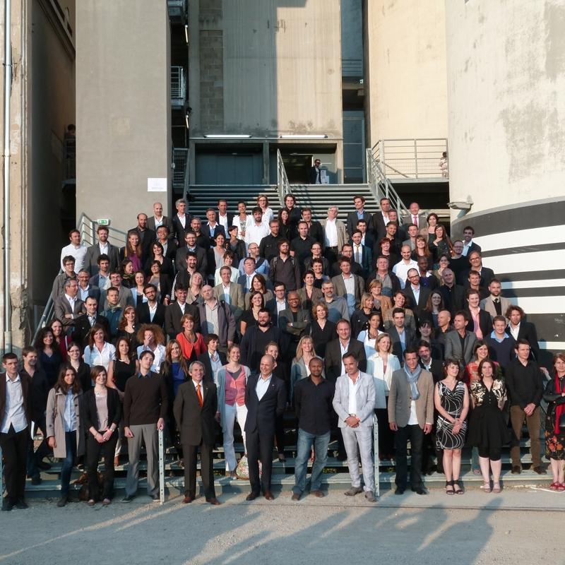Nouveaux architectes inscrits à l'Ordre après leur prestation de serment, à Lyon, le 27 juin 2013
