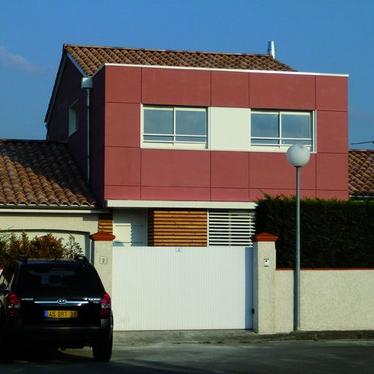 Maison à Plaisance-du-Touch, Haute-Garonne, Marc Amare architecte (source : Archicontemporaine.org)