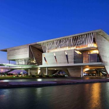 Cité des arts de Rio de Janeiro - C. Portzamparc Arch. - Grand Prix AFEX 2014