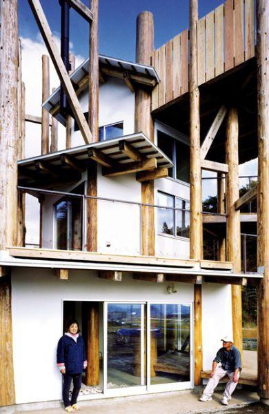 Maison pour tous Rikuzentakata, Toyo Ito Arch. © Naoya Hatakeyama