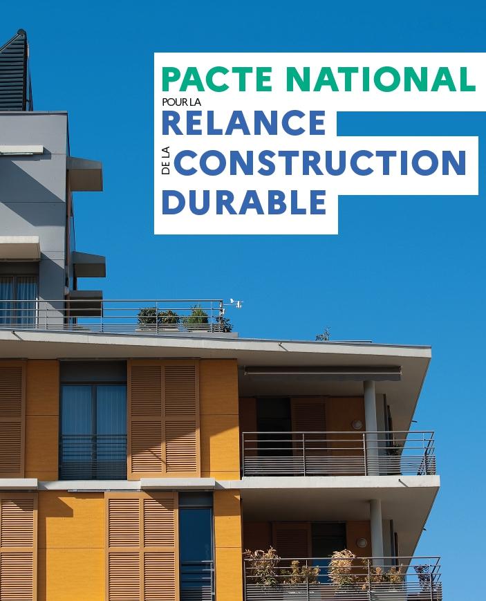 Pacte national pour relancer la construction durable