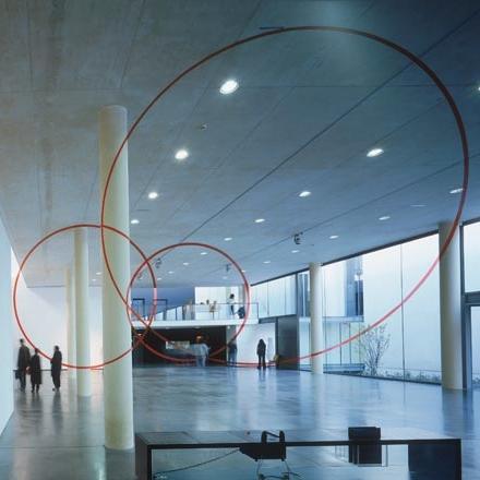 Musée d'Art contemporain (MacVal) à Vitry-sur-Seine - en hommage à Jacques Ripault, architecte (photo J-M Monthiers)