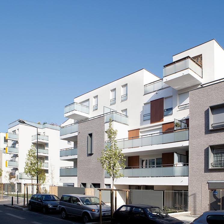 64 logements en accession, îlot 7B, Saint-Denis (93)- Guy Vaughan, architecte
