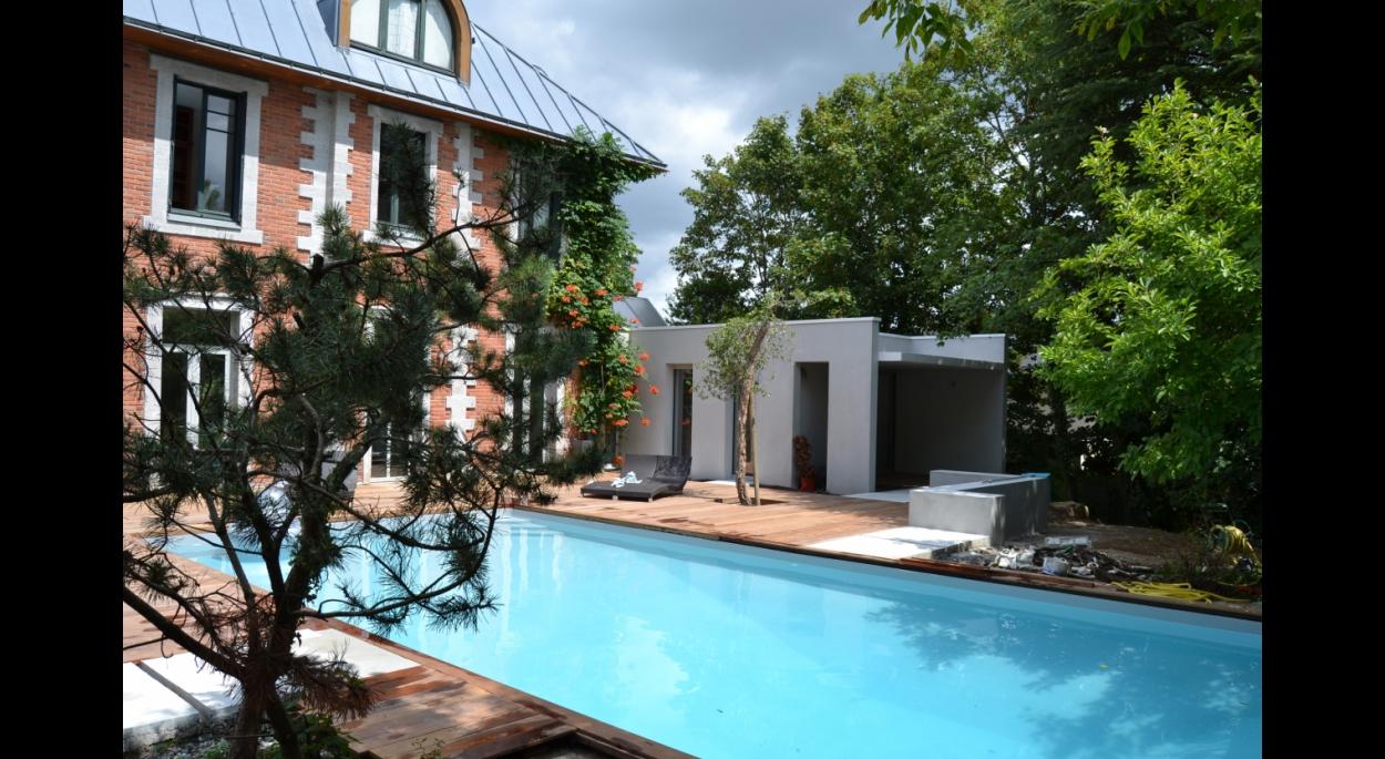 piscine, extension