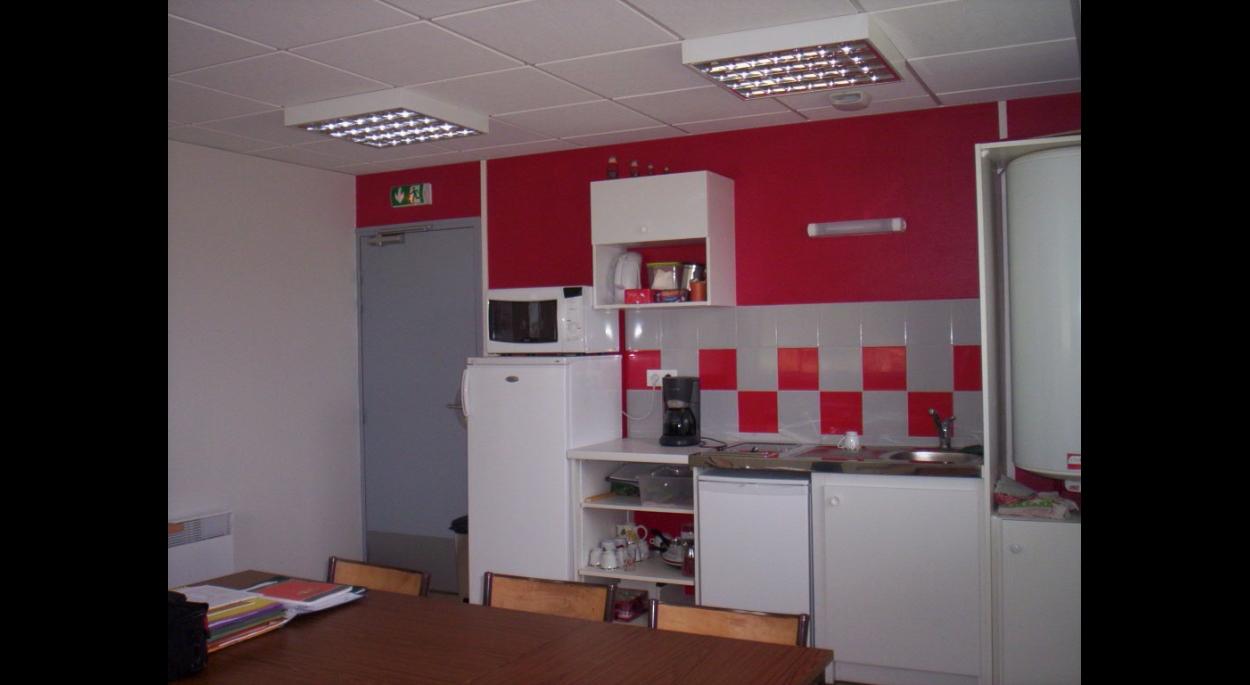 kitchenette dans la salle de réunion
