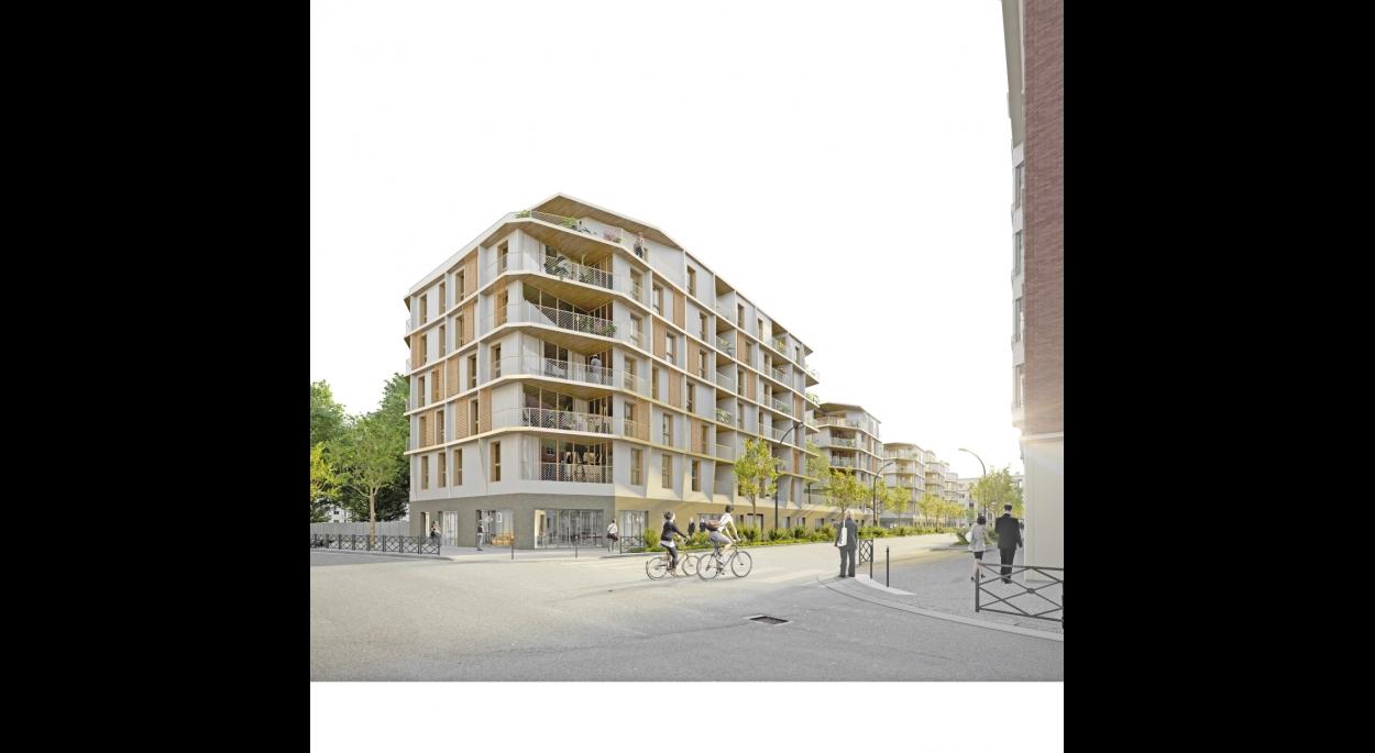 151 logements et locaux d'activité à Asnières-Sur-Seine