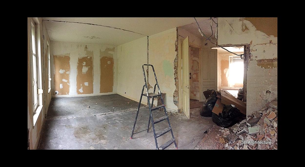 Rénovation d'une maison de ville a nancy 54