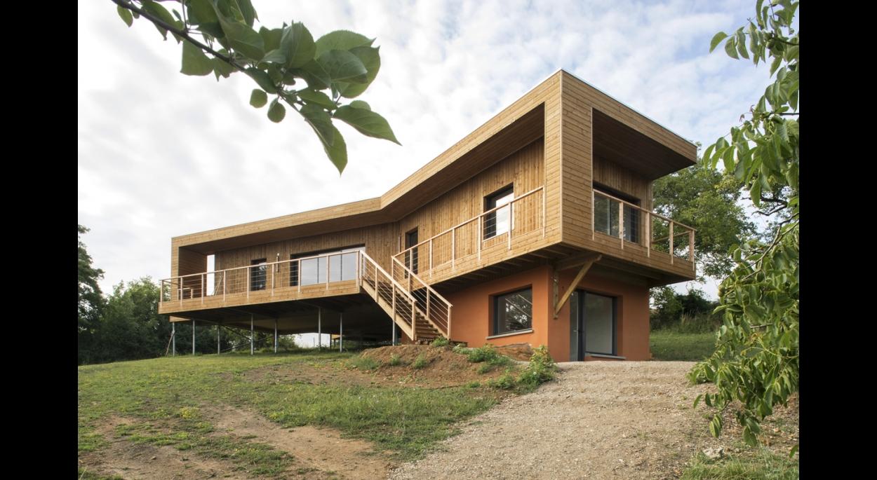 Maison en bois architecte ventana blog for Architecte maison bois