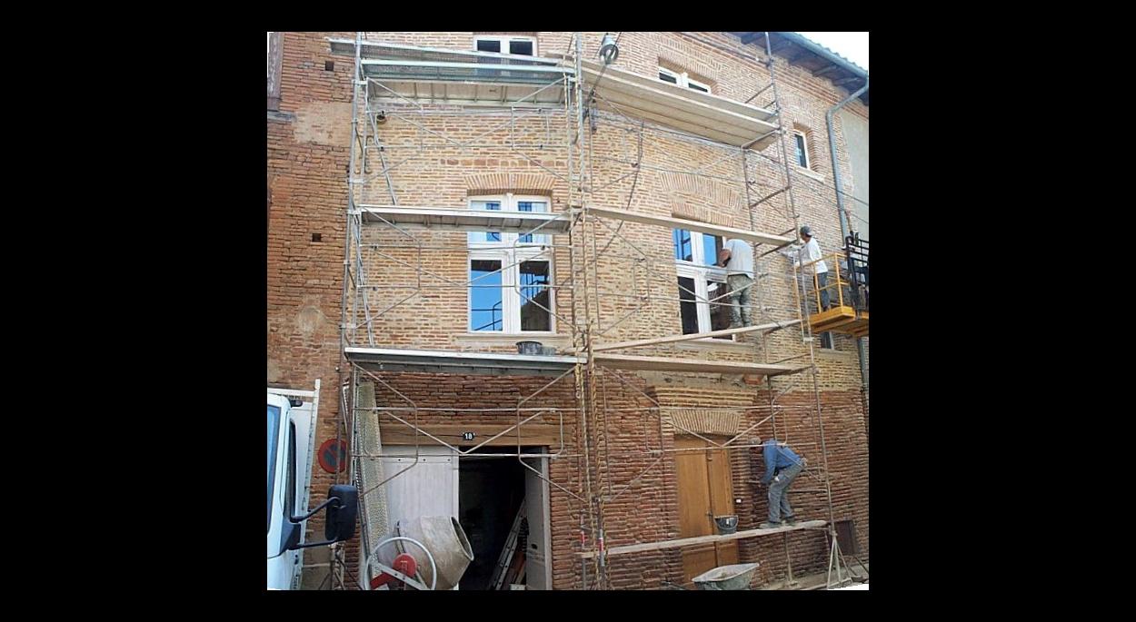 GAILLAC_restauration d'une habitation dans un site protégé Monuments Historiques