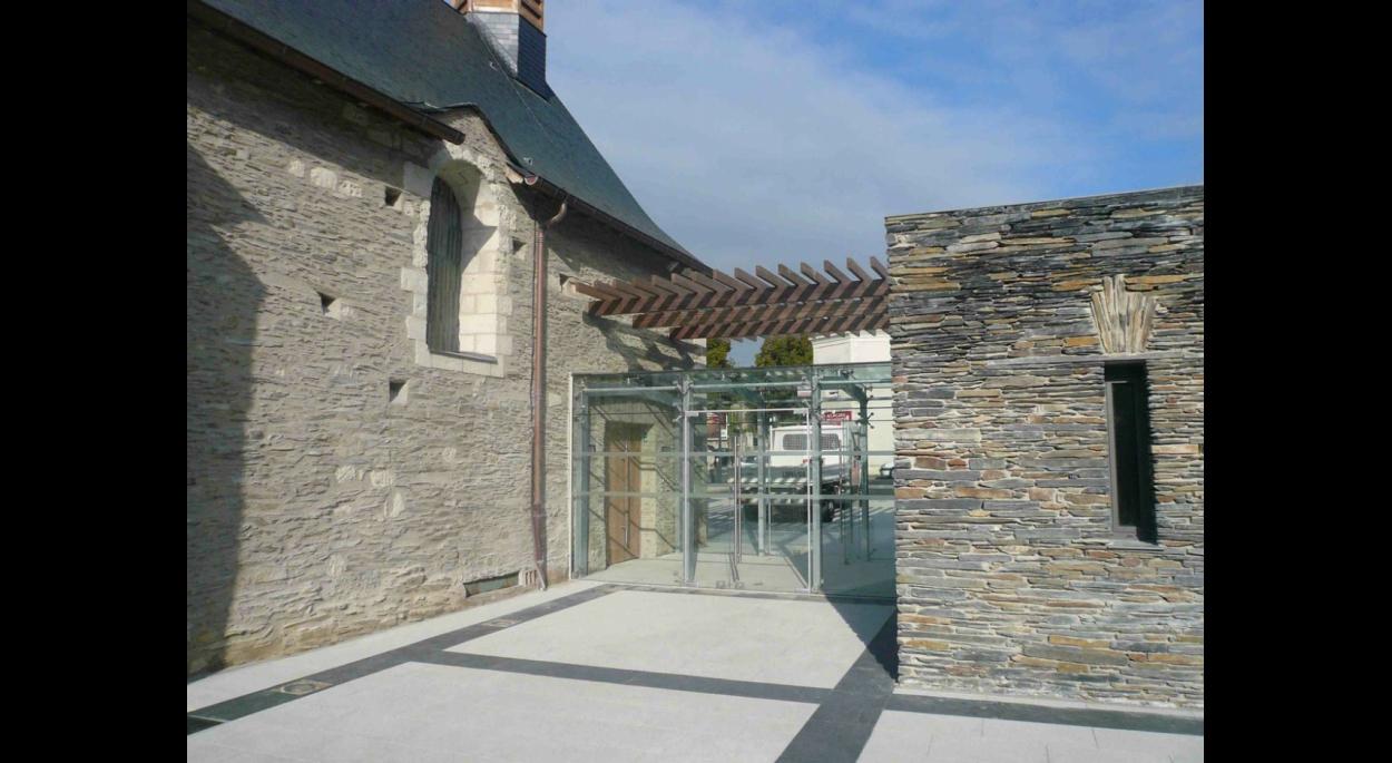 chapelle saint lazare à angers (49) | legrand valérie, architecte du