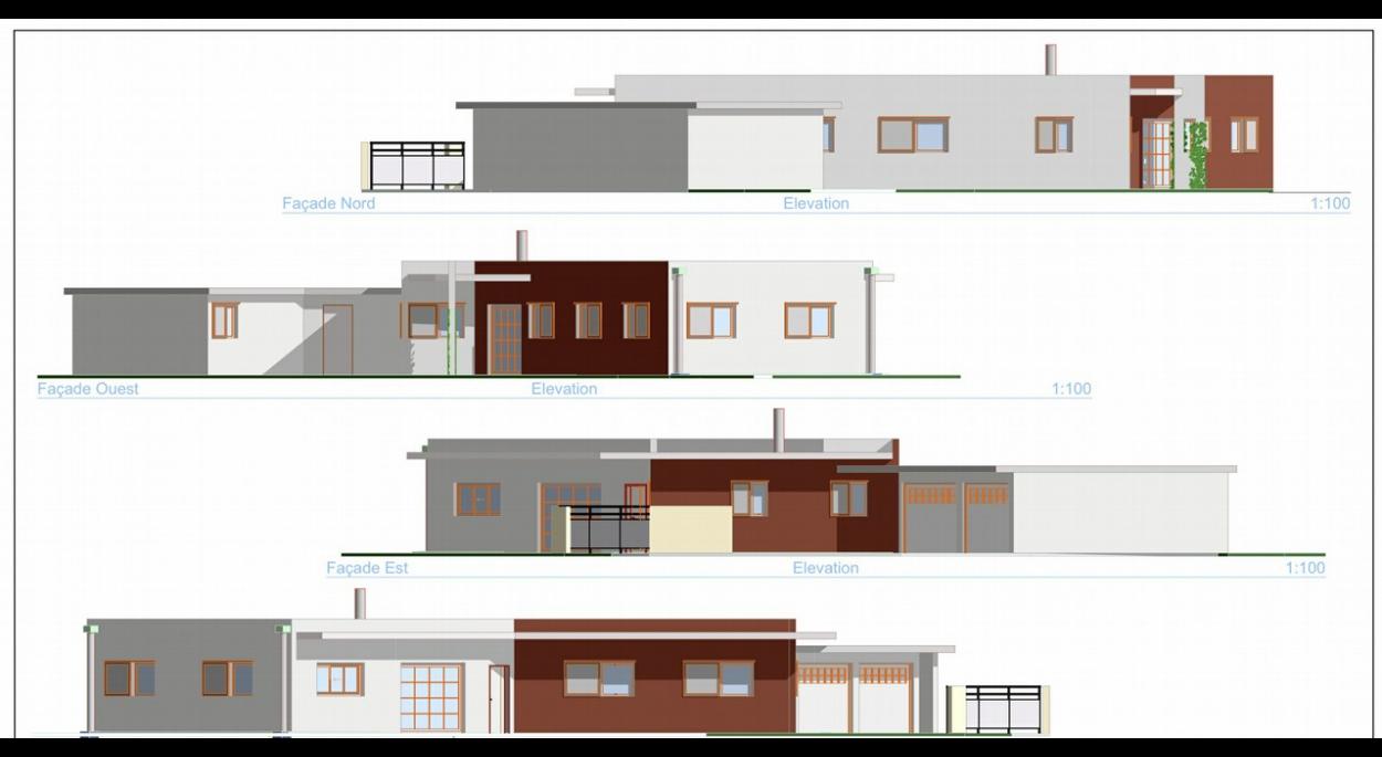 Architecture Eric Agro permis de construire