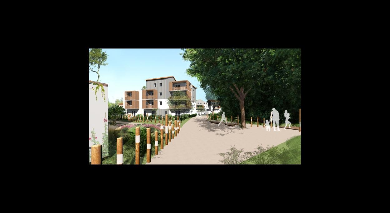 Le Champ Toury, 83 logements à Bouguenais